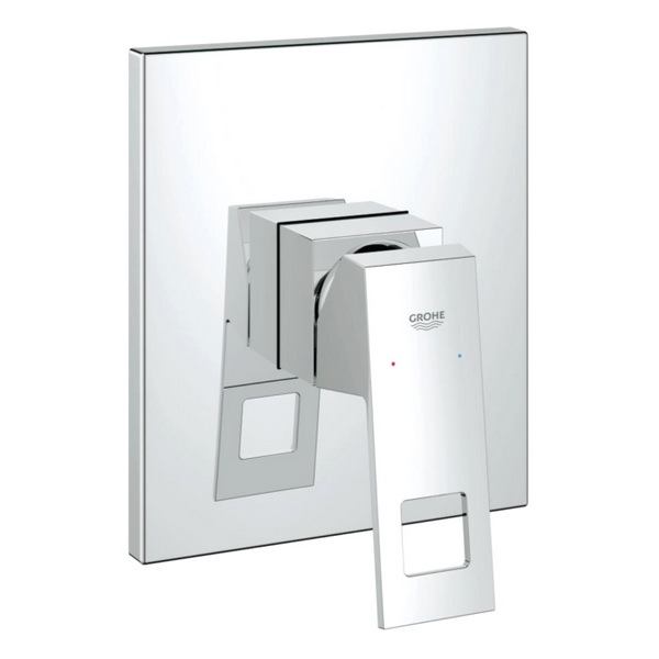 Grohe Eurocube Single Lever Shower Mixer Trim Chrome