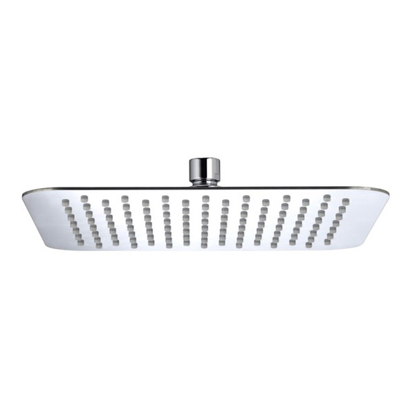 Bristan Stainless Steel 250mm Square Fixed Shower Head Chrome
