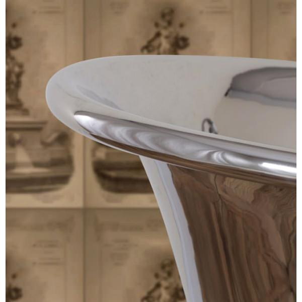 Alternate image of JIG Normandy Free Standing Copper Bath Nickle Finish 1730 x 710mm