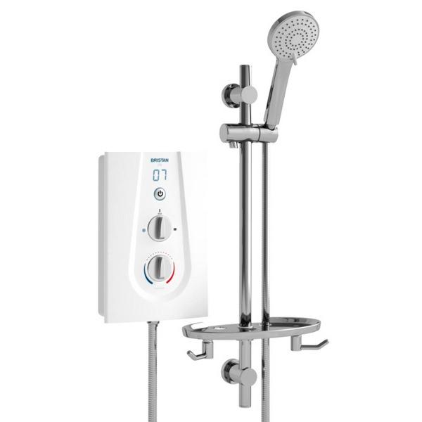 Bristan Joy 8.5KW Electric Shower White