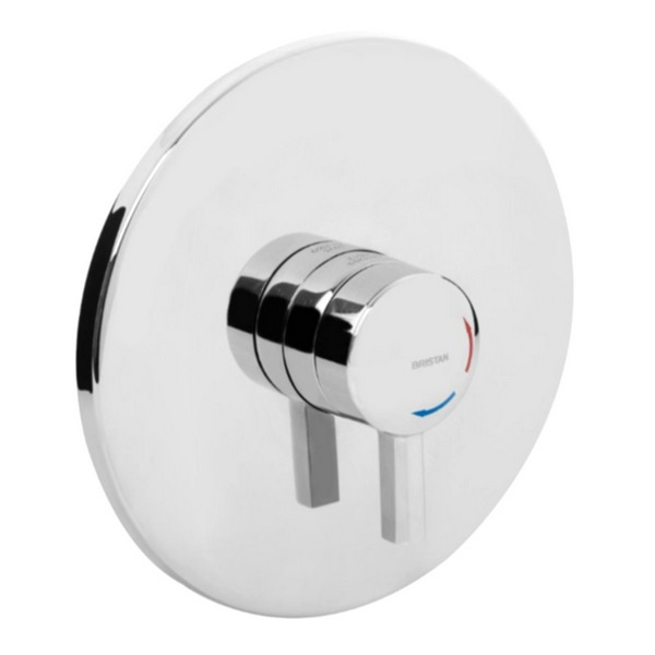 Bristan Opac Mini Thermostatic Concealed Shower Valve With Chrome Lever