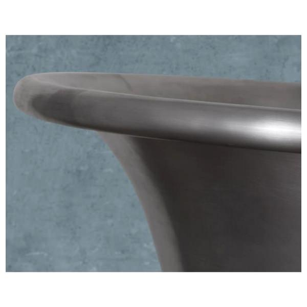 Alternate image of JIG Normandy Free Standing Copper Bath Tin Finish 1730 x 710mm