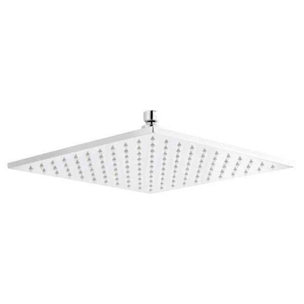 Lauren 200 x 200mm Square Fixed Shower Head With LED