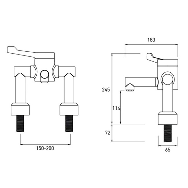 Technical drawing B3-21405 / H64DMT2