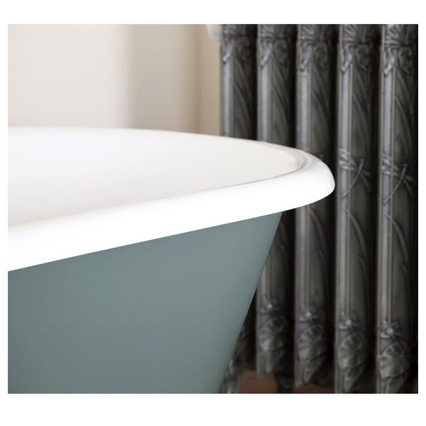 Alternate image of JIG Bisley Cast Iron Free Standing Bath With Feet 1700 x 750mm