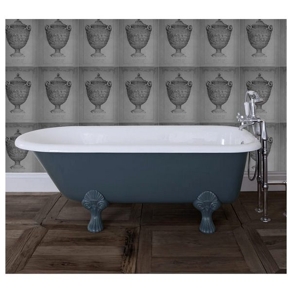 JIG Cambridge Cast Iron Free Standing Bath With Feet 1670 x 770mm