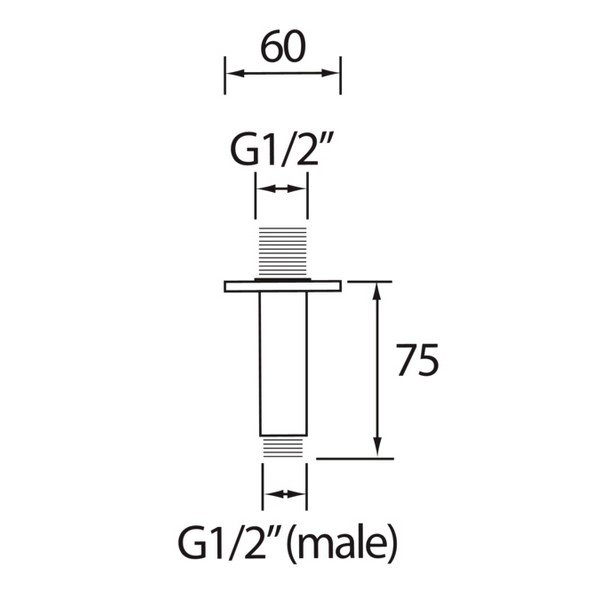 Technical drawing B3-21496 / ARM CFRD01 C