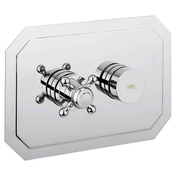 Crosswater Dial 1 Control Shower Valve With Belgravia Landscape Trim