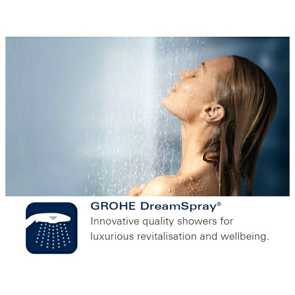 Additional image of Grohe Euphoria Cube Plus Wall holder set 1 spray