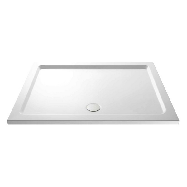 Beo 1600 x 800mm Pearlstone Low Profile Shower Tray