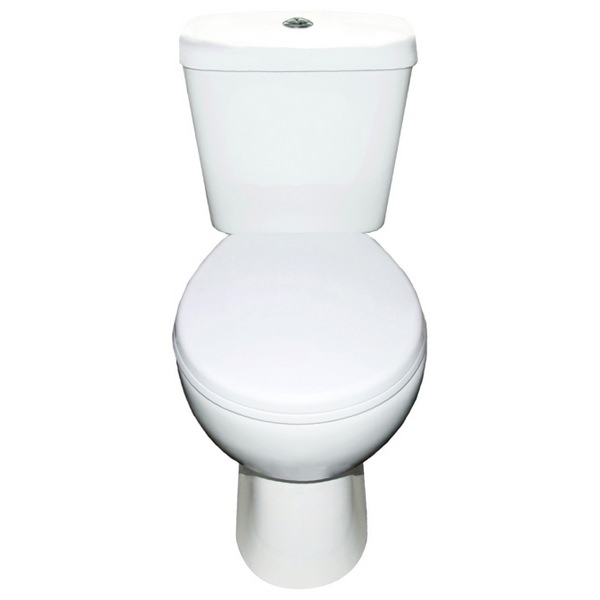 Bog In A Box Closed Coupled Pan And Cistern With Soft Close Seat