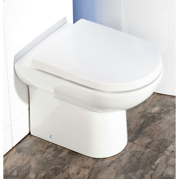 Rothwell D Shape Back To Wall WC Pan