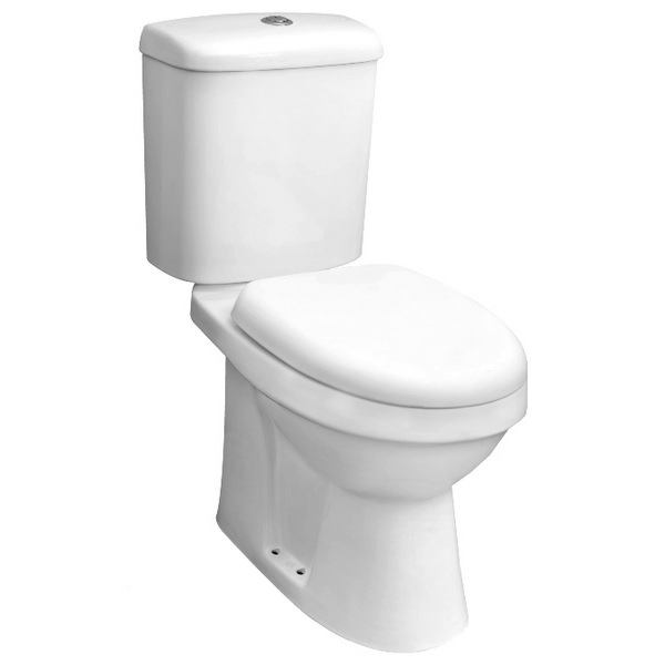 Listra Comfort Height Close Coupled Pan And Cistern With Soft Close Seat