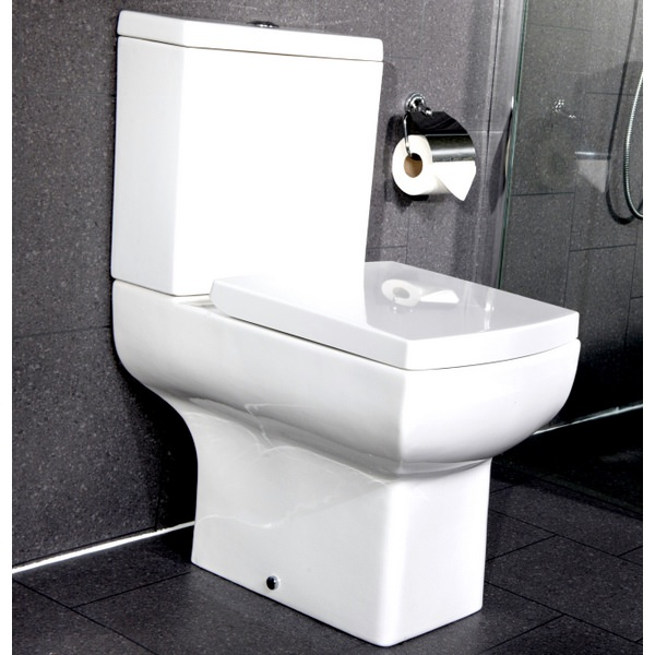 Additional image of Daisy Lou Close Coupled WC Pan And Cistern With Seat