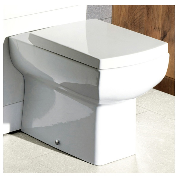 Daisy Lou Back To Wall WC Pan With Soft Close Seat