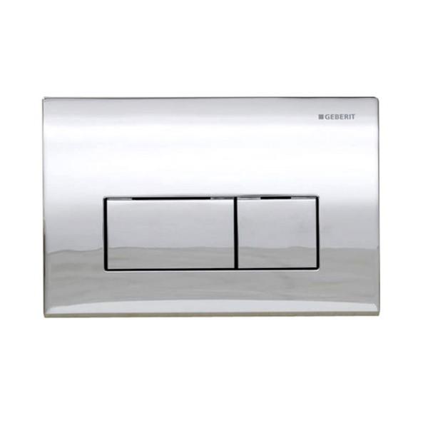 Geberit Kappa50 Dual Flush Plate Gloss Chrome - 115.260.21.1