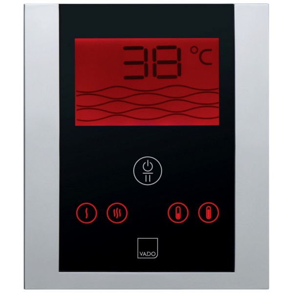 Vado Identity Thermostatic Shower Valve With Digital Control Panel