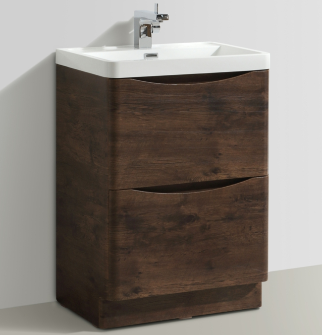 Additional image of Bali Chestnut 600mm Free Standing Vanity Unit With Basin