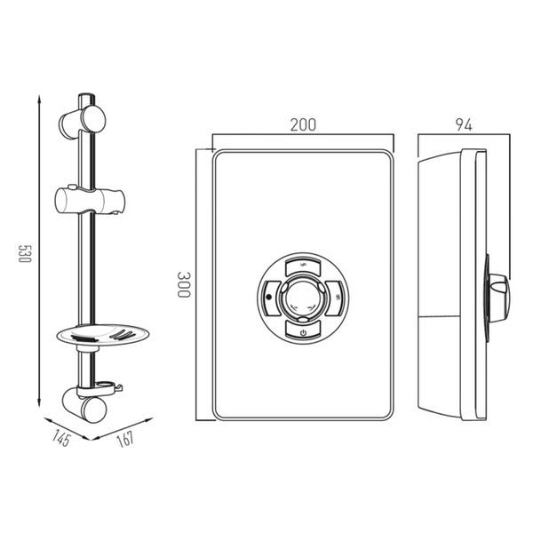 Technical drawing B3Q-24423 / ELS-ELE-85-MET