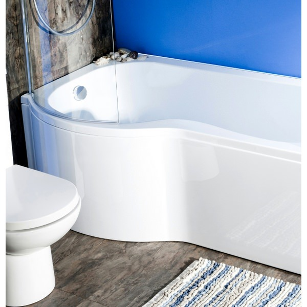 Additional image of Cassellie Curved Shower Bath Screen