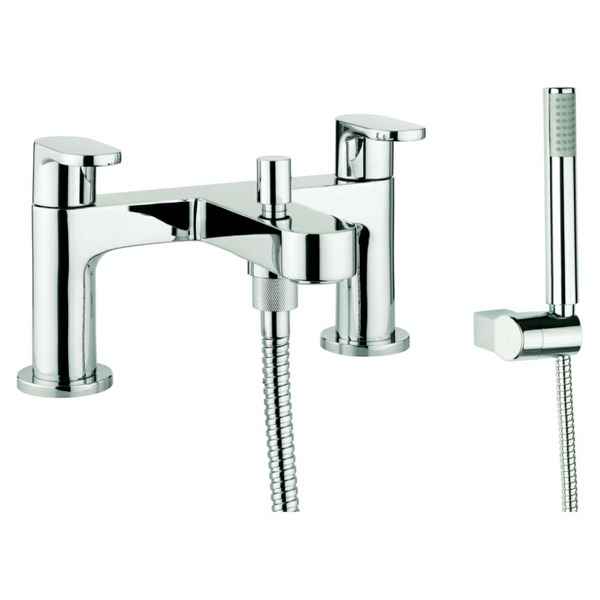 Adora Style Dual Lever Deck Mounted Bath Shower Mixer Tap