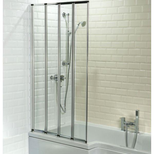 Cassellie 4 Fold Bath Screen