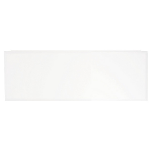 Mirano White Gloss Square Edge Laminate Worktop 2500mm
