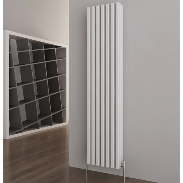 Karo Vertical White Designer Radiator 340 x 1800mm