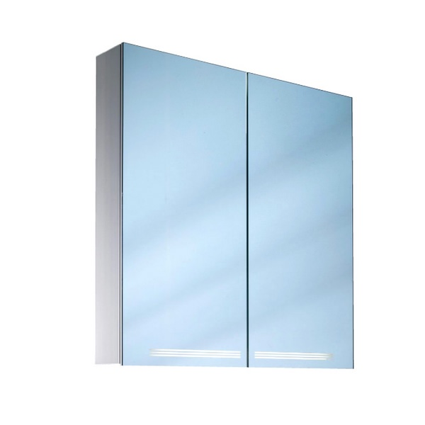 Schneider Graceline Double Door Illuminated Mirror Cabinet 700mm