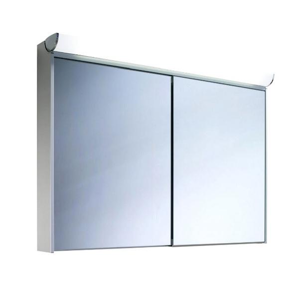 Schneider Slideline 1300mm 2 Sliding Mirror Doors Cabinet