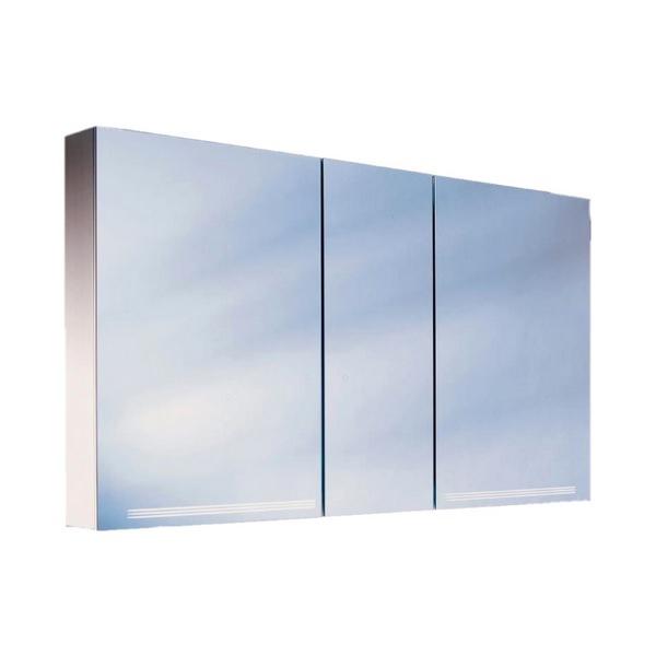 Schneider Graceline 3 Door 1500mm Illuminated Mirror Cabinet