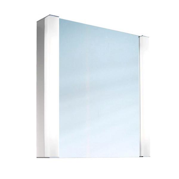 Schneider Pepline Single Door 600mm Mirror Cabinet