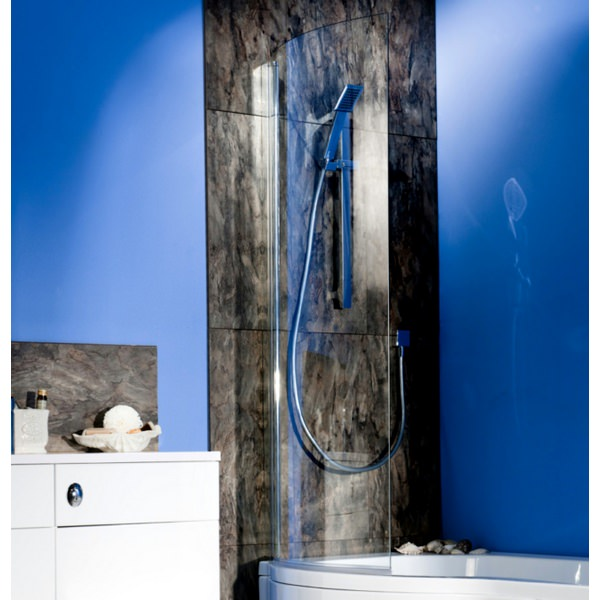 Cassellie Curved Shower Bath Screen