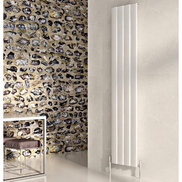 Step Vertical Aluminium Designer Radiator 375 x 1800mm