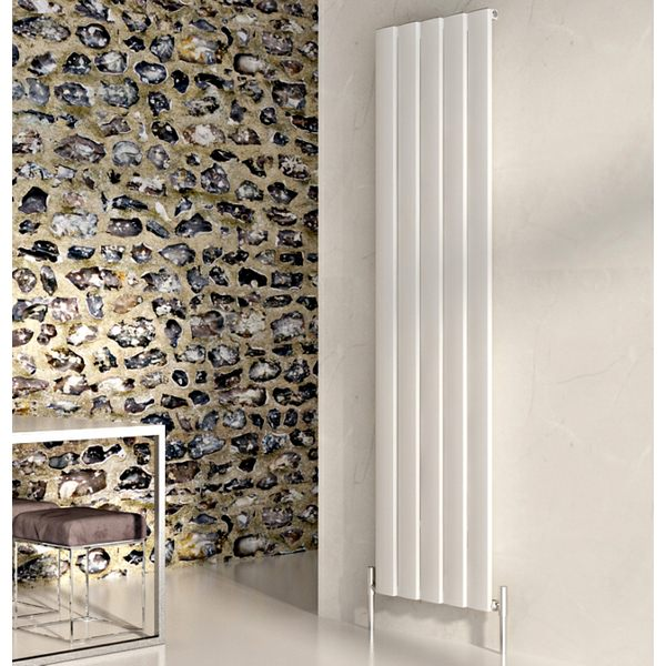 Step Vertical Aluminium Designer Radiator 470 x 1800mm