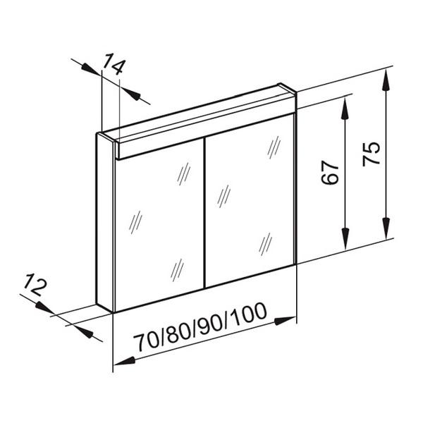 Technical drawing B3-19093 / MOA/WL 80/2/FL