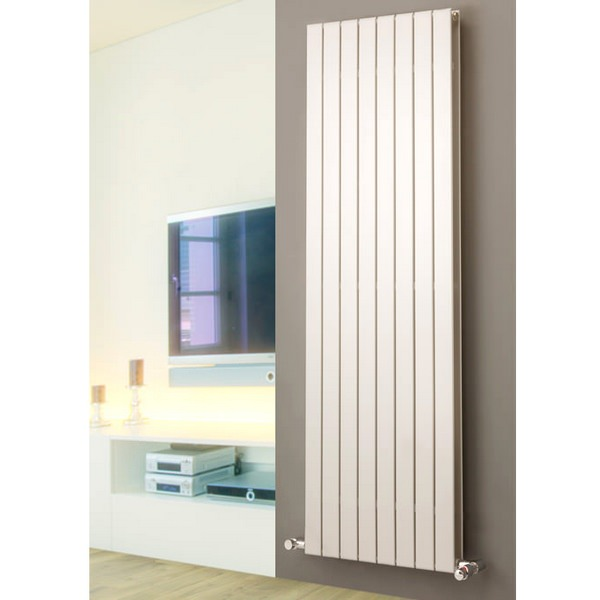 Eucotherm Mars Vertical Duo Flat Panel Radiator 595 x 1800mm