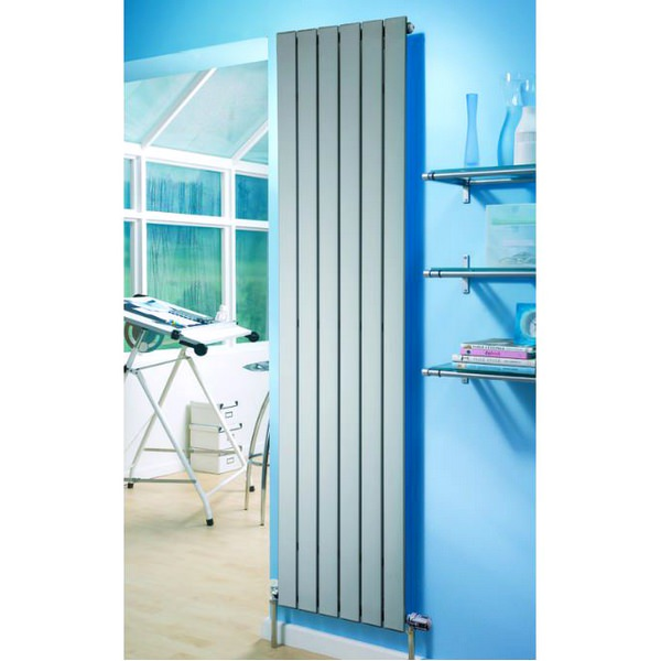Additional image of Eucotherm Mars Single Flat Panel Vertical Radiator 595 x 600mm