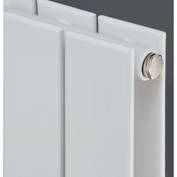 Additional image of Eucotherm Mars Vertical Duo Flat Panel Radiator 595 x 1200mm