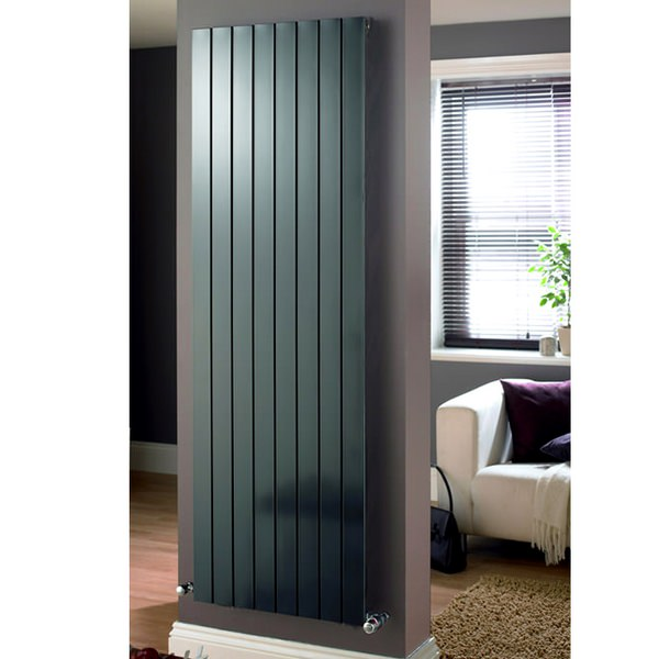 Additional image of Eucotherm Mars Vertical Duo Flat Panel Radiator 595 x 1500mm