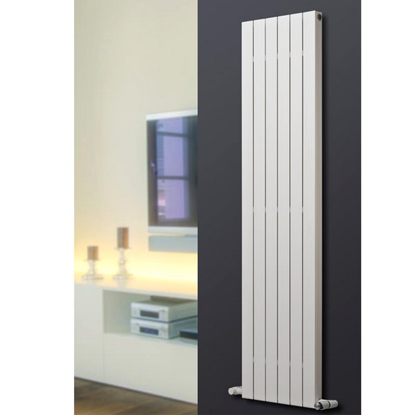 Eucotherm Mars Deluxe Single Flat Panel Vertical Radiator 445 x 1500mm