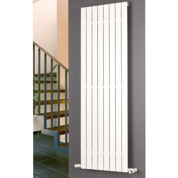 Eucotherm Mars Single Flat Panel Vertical Radiator 595 x 600mm