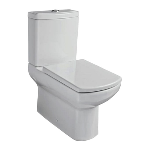 Kartell Aspect Back To Wall Close Coupled WC With Cistern And Seat