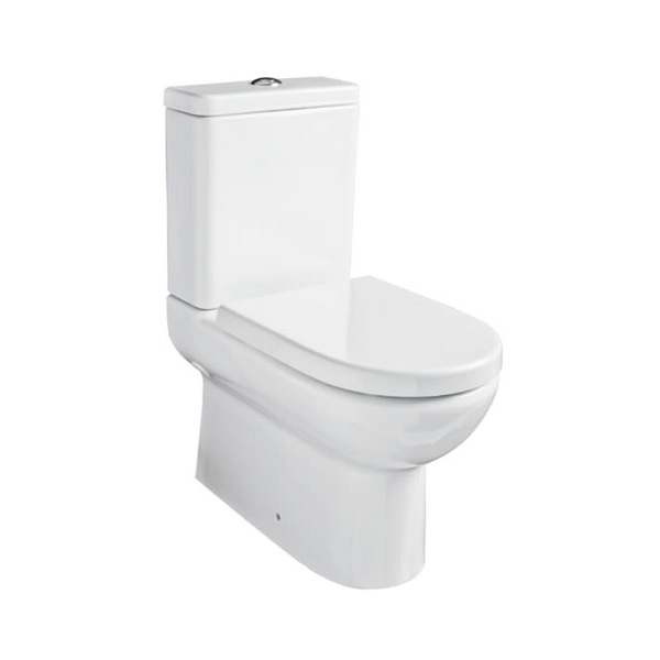 Kartell Ratio Close To Wall WC Pan With Cistern And Seat