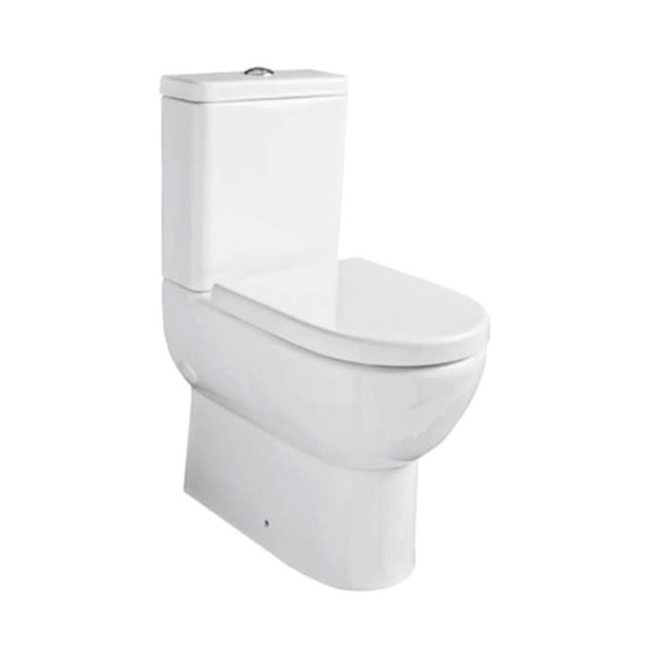 Kartell Ratio Comfort Height Close Couple WC Pan With Cistern And Seat