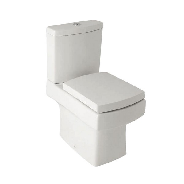 Kartell Embrace Close Coupled WC Pan With Cistern And Soft Close Seat
