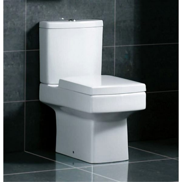 Alternate image of Kartell Embrace Close Coupled WC Pan With Cistern And Soft Close Seat