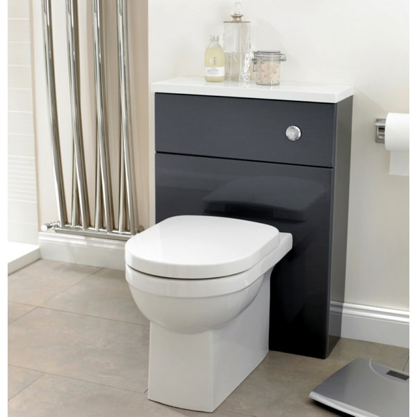Alternate image of Utopia Quantum Square Back-To-Wall Pan With Soft Close Seat 550mm