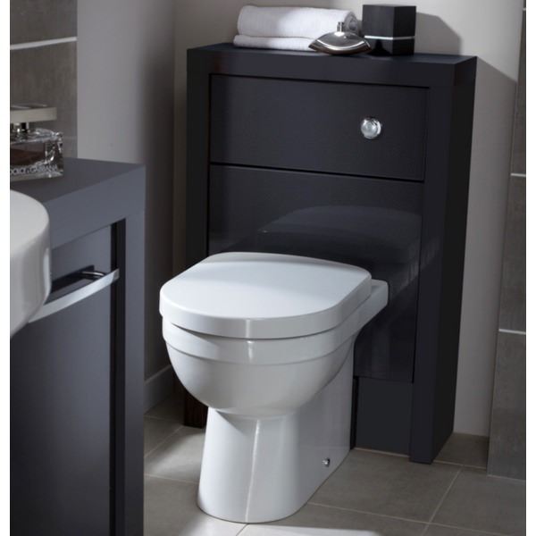 Alternate image of Utopia Quantum Round Back-To-Wall Pan With Soft Close Seat 550mm