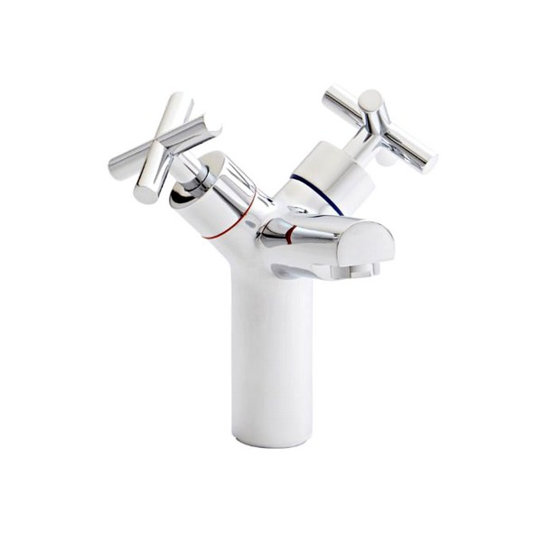 Alternate image of Kartell Times Branch Mono Basin Mixer Tap With Click Waste